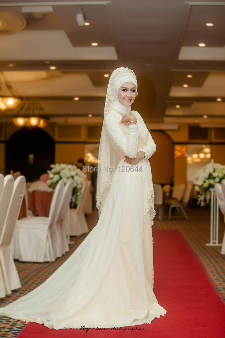 wedding dresses muslim wedding dress