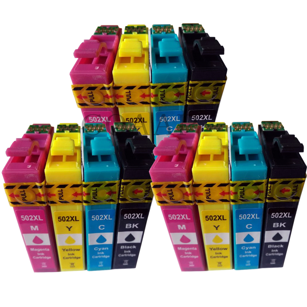 Compatible ink cartridge for EPSON 502 T502 XL for Expression Premium XP5100 XP5105 Wrokforce wf 2865