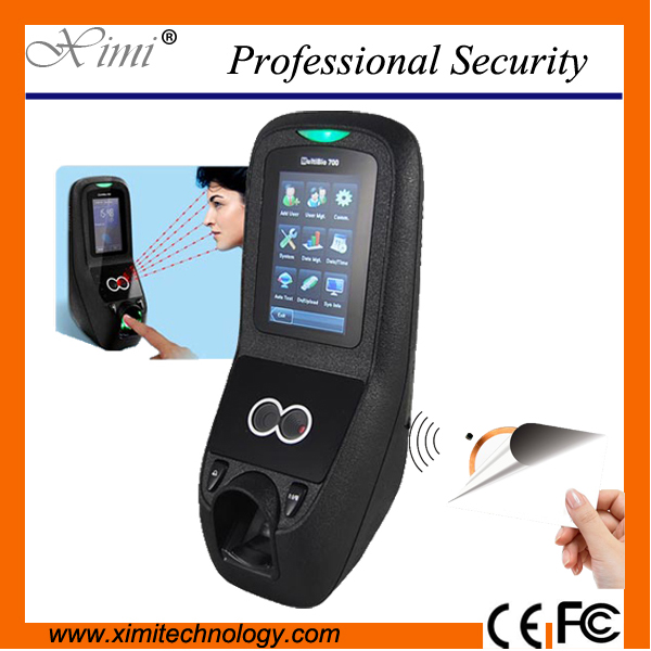 Camera system 1500 face user Multibio700 face and fingerprint time attendance and access control kit tcp/ip facial controller