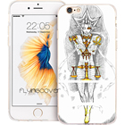 Coque yu gi oh yugioh Shell Cases for iPhone 10 X 7 8 6 6S Plus 5S 5 SE 5C 4S 4 iPod Touch 6 5 Case Clear Soft Silicone Cover.