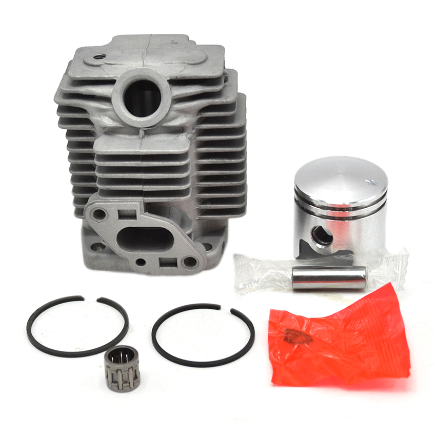 Cylinder Piston Needle Bearing Kit Fit For Mitsubishi TU26 Engine L26M Brush Cutter 2 Stroke Grass Strimmer 767 Power Sprayer cylinder kit piston set with rings needle bearing engine pan cap for stihl ms250 1123 020 1209 replaces