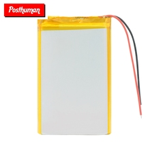 купить 3.7v li po li-ion batteries 3 7 v polymer Rechargeable battery 855080 4000mAh For MP4 MP5 Tablet GPS DVD PDA MID BT Speaker по цене 613.54 рублей