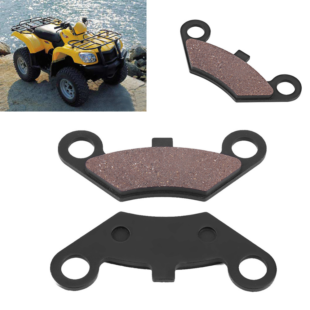 цена на 2 Pcs ATV Front Disc Brake Pads For CFMoto CF500 500cc CF600 600cc X5 X6 X8 ATV UTV Front Brake Pads High Quality