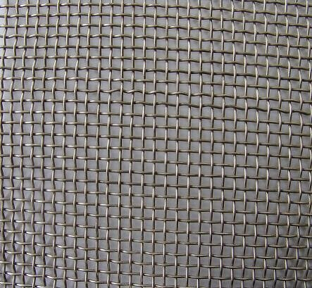 20 x 20 meshes, stainless steel wire mesh