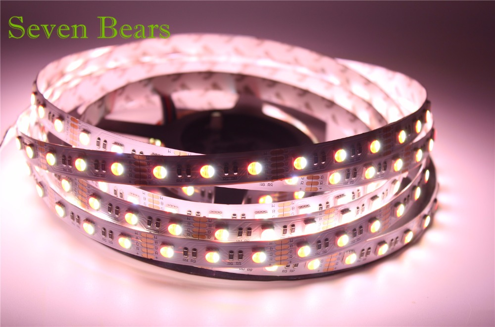 5m RGBW RGBWW 5050 Led Strip Light DC 12V 24V 4 en 1 Led Chip - Iluminación LED - foto 3