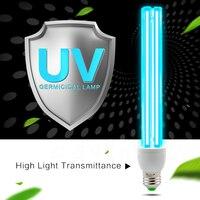 Uv lâmpada de quartzo bactericida desinfecção ozônio esterilizador luz casa matar ácaro esterilização ultravioleta tubo lâmpadas