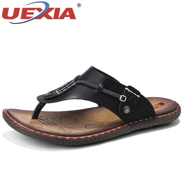 buy cheap latest collections cheap sale big sale 2018 new summer men's and women's leather slippers flip flops soft bottom breathable casual sandals cheap pre order sale 2014 newest cheap sale explore YJYgFZyK