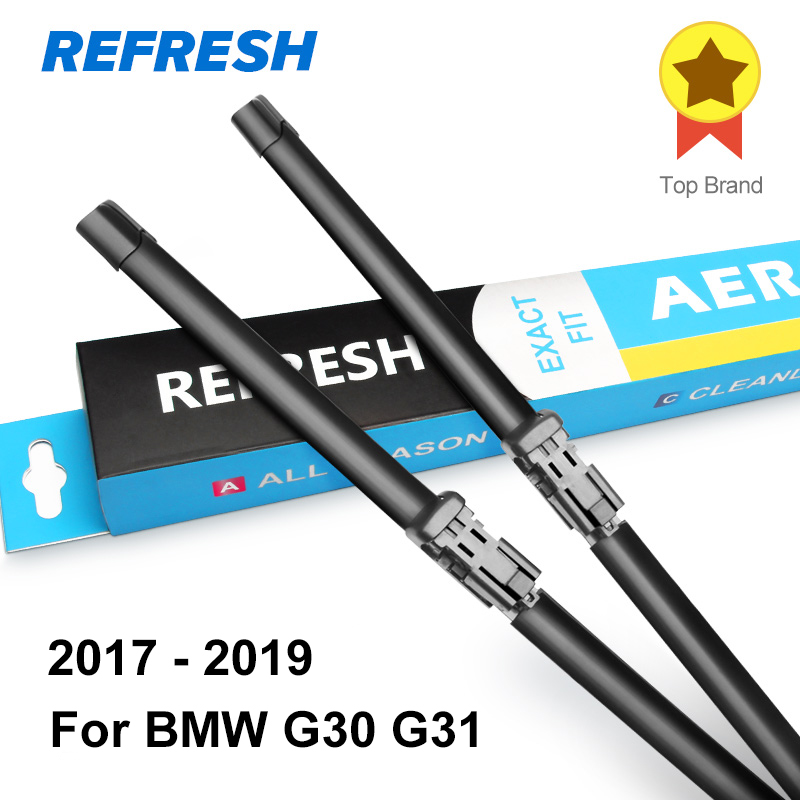 Image 5 - REFRESH Wiper Blades for BMW 5 Series E39 E60 E61 F07 F10 F11 G30 G31 520i 523i 525i 528i 530i 535i 518d 520d 525d 530d 535d-in Windscreen Wipers from Automobiles & Motorcycles
