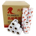 (24Rolls/case) 57x50 cash register paper  ECO type thermal paper roll from 58mm POS printer  buy 4 cartons get one  carton free