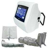 Профессиональные прессотерапия машина для похудения тела Вес потеря лимфатический массаж Детокс Красота машины 5 дюймов сенсорный экран