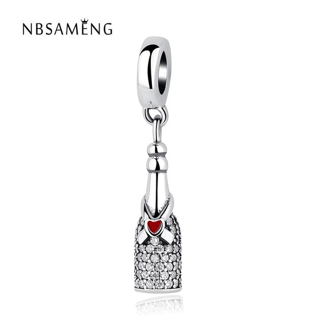 c1df8d7e5 Per Autumn Real 925 Sterling Silver Bead Charm Celebration Time Pendant  Charm Fit Original Pandora DIY Bracelets Jewelry