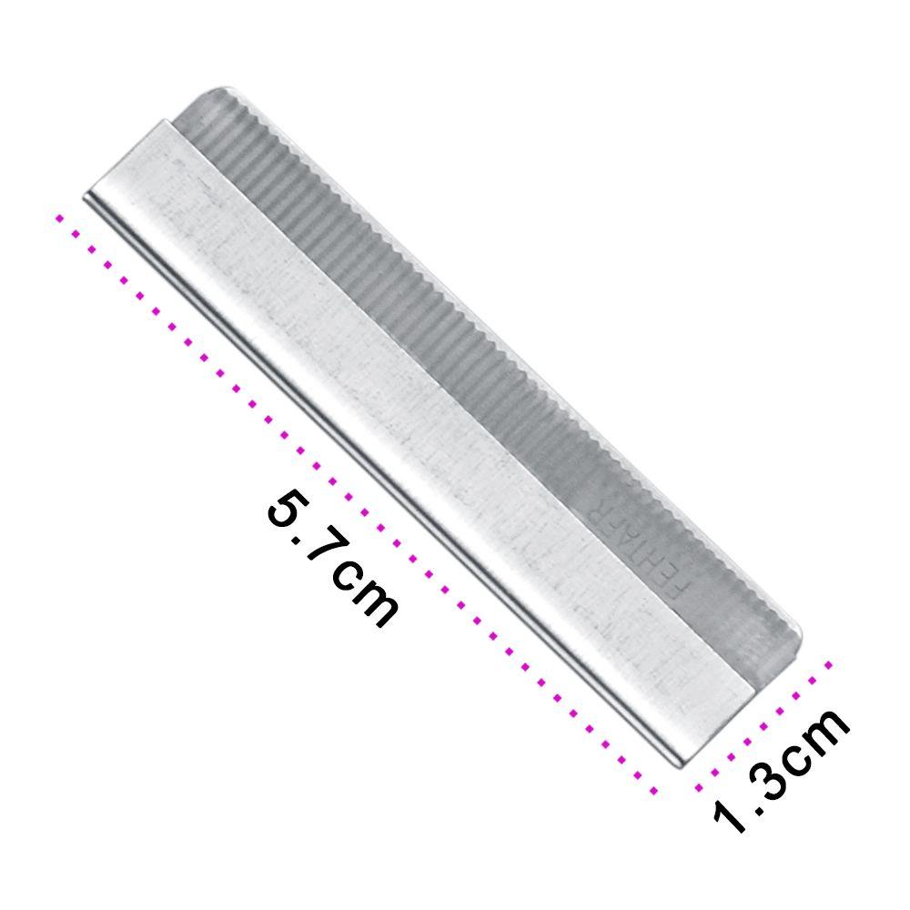 682f3b07c9547 High Quality 10pcs pack Eyebrow Trimmer Blades Eyebrow Cutter Equipment  Super Feather Cut Special Platinum Coated Edge Razor Bla - us637