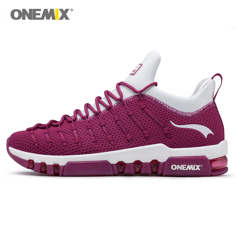Max Woman Running Shoes Women Trail Nice Trends Athletic Trainers Wine Red Sports Boots Cushion Outdoor Tennis  Walking Sneakers