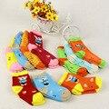 0-3 лет Unisex Детские носки пола носки мальчиков носки девушки дети дети cutu животных кролик крыса медведь шаблон носки хлопок