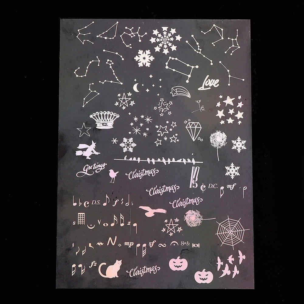 1 Uds. Magic Array Moon colorido Material transparente con el uso de la caja del teléfono del molde epoxi que hace el relleno de la herramienta de la joyería para DIY