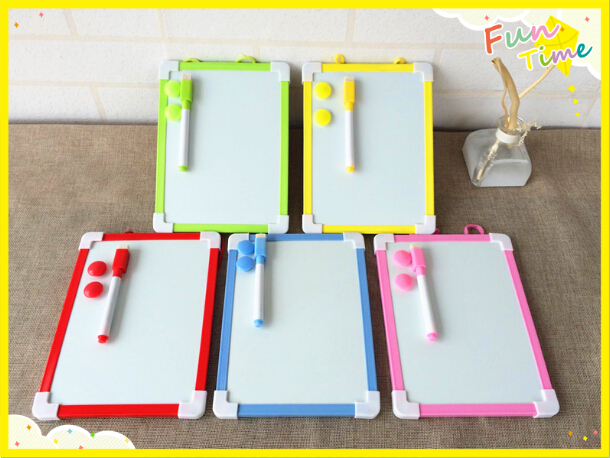 Free Shipping Magnetic Whiteboard Kids Drawing Board With Marker Pen Christmas Gifts White