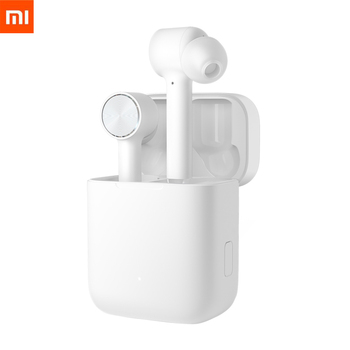 Stock 2019 Original Xiaomi Air TWS Headset Bluetooth True Wireless Stereo Sport Earphone ANC Switch ENC Auto Pause Tap Control Bluetooth Earphones & Headphones