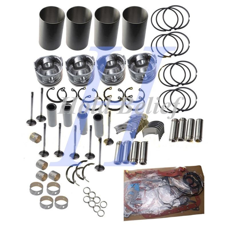 Overhaul Rebuild Kit For Toyota 1989-1998 Hilux&Hiace 3L Diesel Engine 2.8 Litre