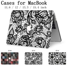 2019 Tablet Bags For Laptop Notebook MacBook Case Sleeve New Cover For MacBook Air Pro Retina 11 12 13 15 13.3 15.4 Inch Torba