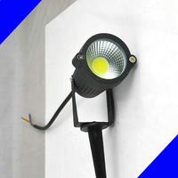 12 V LED COB Gazon Lampen 7 W IP65 Waterdichte LED Flood Spot Gloeilamp Voor Vijver Path Buitenverlichting met Insert Naald Pin
