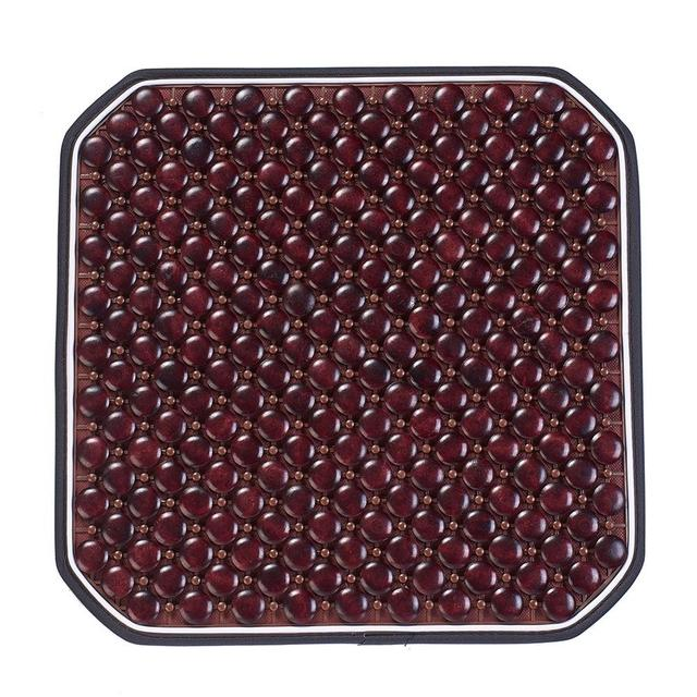 Automobiles Seat Cover Wood Bead Car Seat Cushion Massage Cool Seat Mat for Car