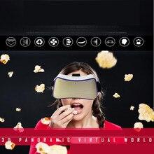 มาใหม่VRแว่นตา3Dวิดีโอภาพยนตร์หน้าจอมินิละครล่าสุดQuad-coreสมาร์ทแว่นตาความจริงเสมือนหัว-ติดหมวกกันน็อค