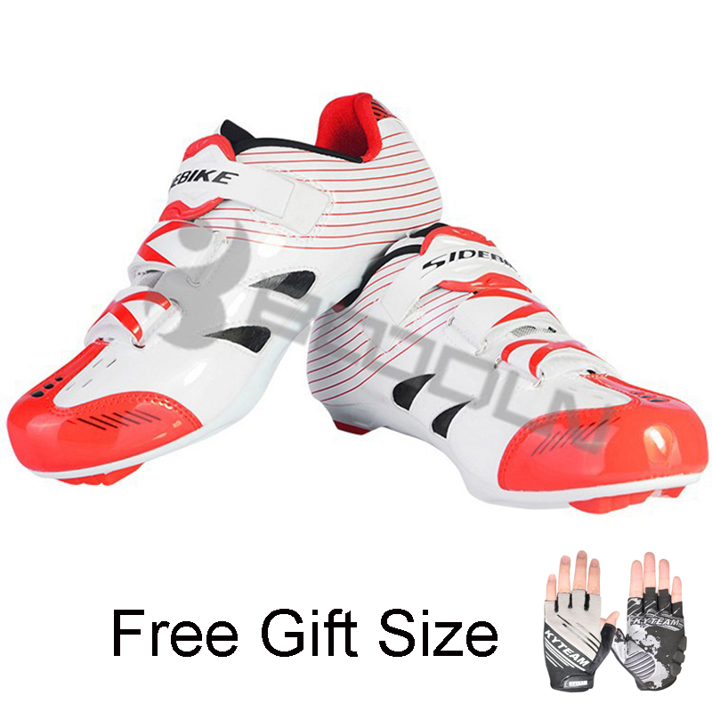 SIDEBIKE Cycling Shoes Road Bicycle Sapato Masculino Bike Zapatillas Ciclismo Deportivas Hombre Bicicleta Carretera цена