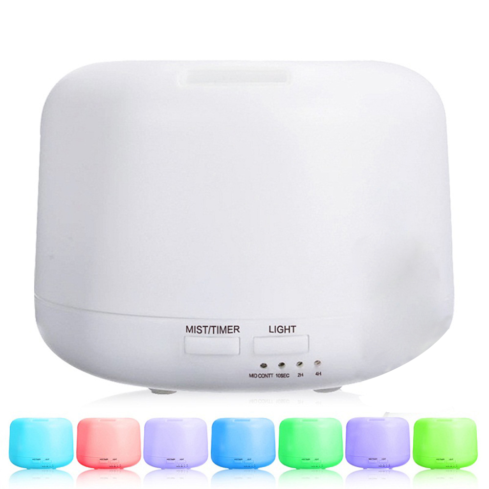 300ML Ultrasonic Aromatherapy Humidifier Essential Oil Diffuser Air Purifier for Home Mist Maker Aroma Diffuser Fogger LED Light aroma diffuser aromatherapy humidifier ultrasonic essential oil air purifier mist maker diffusor for home office spa 140ml