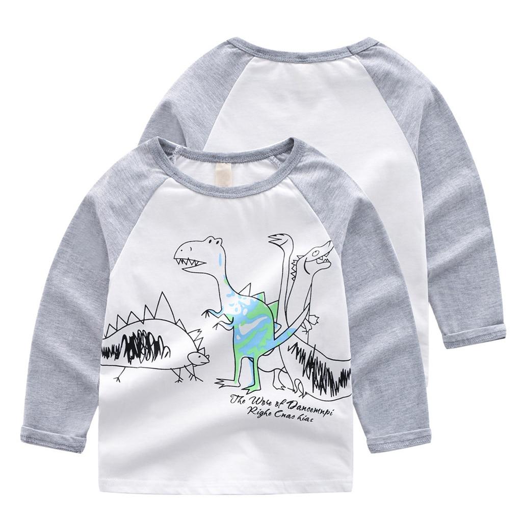 Children Kid Baby Girl Boy Long Sleeve Sweatshirt Tops Shirts Tee Casual Clothes