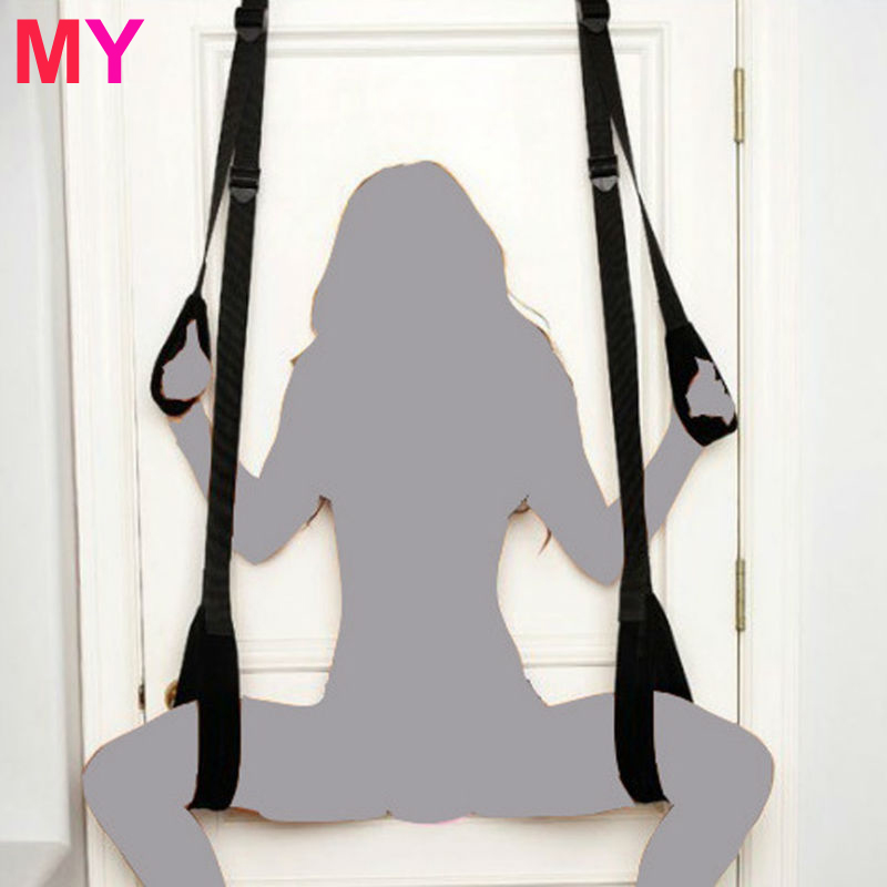 MY Sex Swing Chairs Hanging Door Swing Sex Furniture Fetish Restraints Bandage Adult Sex Products Erotic Toys For Couples