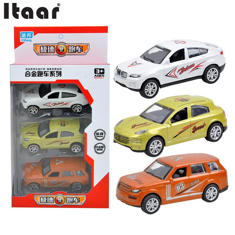 Simulation Cars Model Alloy Sliding Brain Development Game Toy Gifts Children