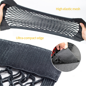 Image 5 - Car Accessories Mesh Trunk Organizer Net Nylon SUV Auto Cargo Storage Mesh Holder Universal For Cars Luggage Nets Travel Pocket
