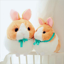 New Style Lovely Fat Rabbit Short Plush Toy Stuffed Animal Rabbits Doll Children Birthday Gift