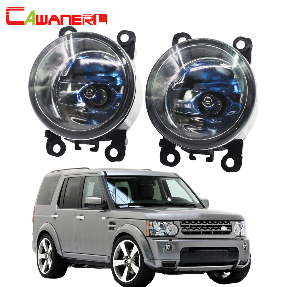 Cawanerl Car Halogen Fog Light Daytime Running Lamp For Land Rover Discovery 4 LR4 SUV (LA) Closed Off-Road Vehicle 2010-2013 cawanerl for land rover range rover sport freelander 2 range rover discovery 4 car led fog light daytime running lamp drl 12v