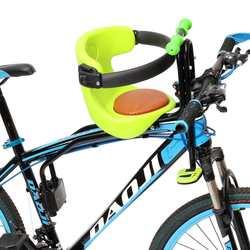 Gorąca sprzedaż nowy górski rower szosowy fotelik bezpieczeństwa dla dziecka rower dziecięcy przednie krzesło nadaje się dla dziecka w wieku 0 6 lat  czerwony  zielony |Siodełka rowerowe|   -
