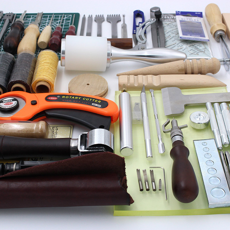 High Quality Leather Craft Sewing Hand Stitching Tool Set