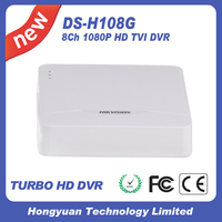 Hikvision Cctv Dvr DS H108G 8 Turbo HD AHD Analong Interface Ipu Mini 1U Case