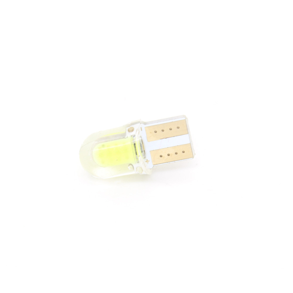 Dongzhen T10 5W5 W5W COB Auto Car Interior Light Clearance Wedge Led License Plate Parking Bulbs Cargo Stop Lamp 10pcs White