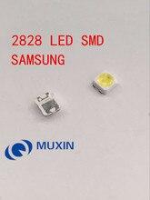 สำหรับ SAMSUNG LED LCD Backlight TV การประยุกต์ใช้ LED Backlight TT321A 1.5W 3V 3228 2828 1000PCS สีขาว LED LCD TV Backlight