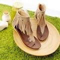 Apressado 2016 Sandálias Gladiador Das Mulheres Senhoras Sapatos Plus Size Sapatos Femininos Sandálias Sapato Feminino Verão Estilo Chaussure Femme 365
