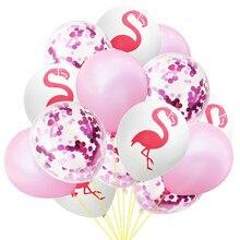 1set Colourful Midsummer Pineapple Flamingo Party Fiesta Balloons Birthday Wedding Decoracion Adult Baby Shower Supplies