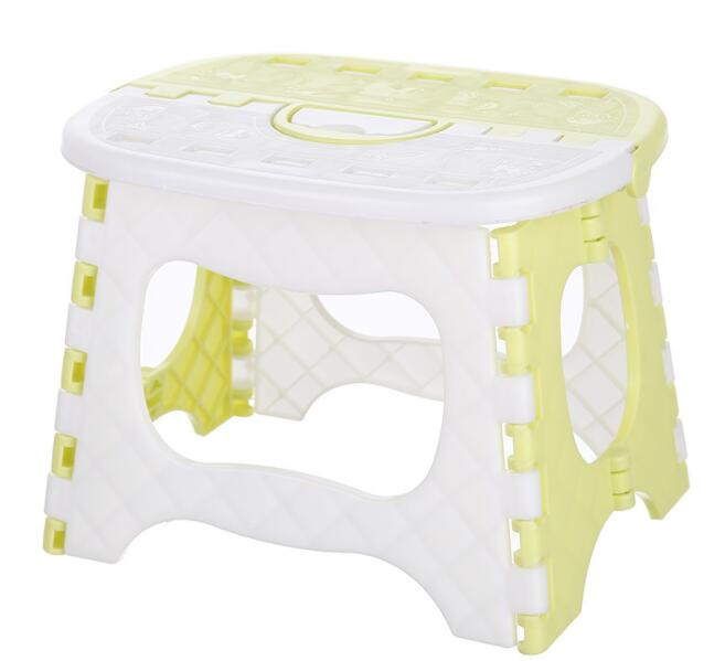 Children's Portable Folding Stool Thicken Durable Small Fishing Stool With Handle