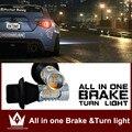 Para nissan/pathfinder/teana/patrulha/micra/murano/sentra/Lâmpada LED Cauda De Backup Reversa pausa Parar Turn Signal luz Dupla função
