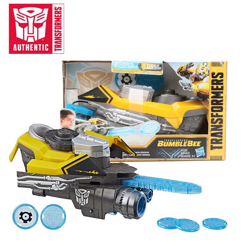 2018 Transformers Toys Movie 6 Bumblebee Stinger Blaster Cosplay Weapon Halloween Cosplay Props for Kids Adults Christmas Gifts цена