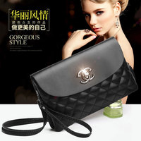 Soft Texture New Vision Modern Beauty Women S Fashion Dinner Diagonal Package Gorgeous Style Goddess Hand