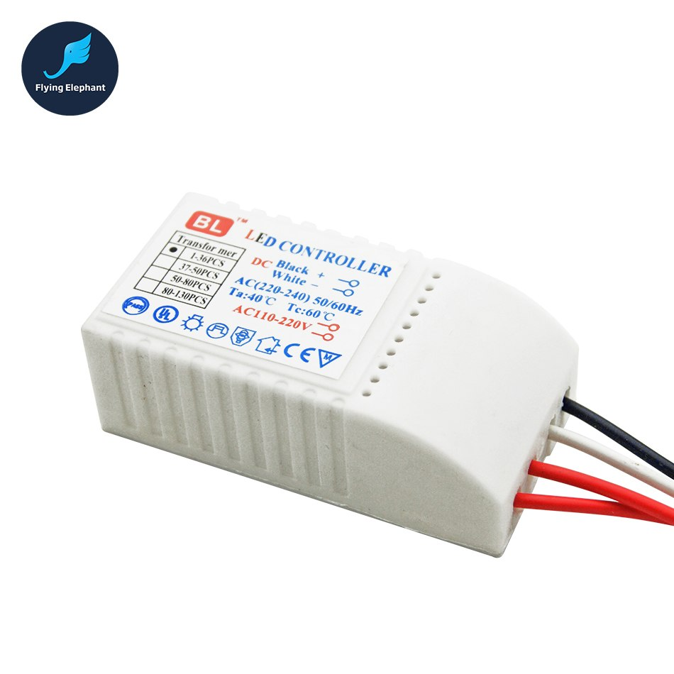 Image 4 - LED Controller Drive 1 130 pcs AC220V LED Transformer Power Supply  LED Beads DC3V Output Low voltage straw hat Lamp-in Lighting Transformers from Lights & Lighting