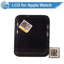 Nueva asamblea lcd original para apple watch display lcd panel de la pantalla táctil del bisel del digitizador para el reemplazo de la pantalla lcd de apple watch