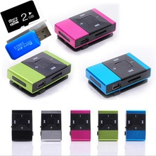 2 Гб TF карта MP3 Красочный мини Mp3 музыкальный плеер Mp3 плеер Micro TF слот для карты USB MP3 S порт плеер USB порт с наушником