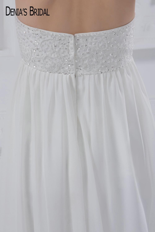 Groß Einfaches Und Elegantes Hochzeitskleid Zeitgenössisch ...
