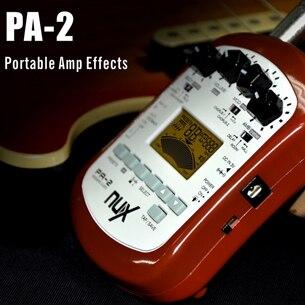 NUX PA-2 Portable guitare acoustique effets processeur haute qualité livraison gratuite - 2